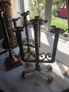 French Hand Forged Candelabra