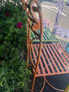 French Bistro Chairs (coloured)/SOLD