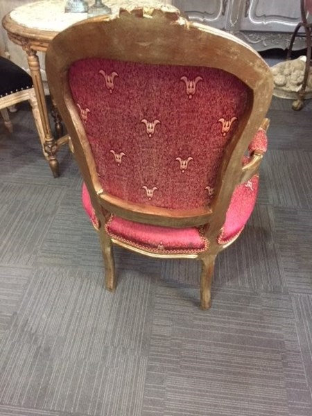 Antique French Upholstered Chairs-----SOLD