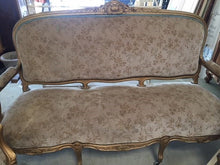 French Settee and 2 chairs