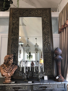 Extra large Mirror-wooden
