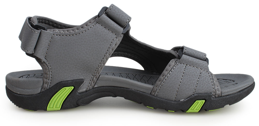 Kunsto Men's Synthetic Leather Sports