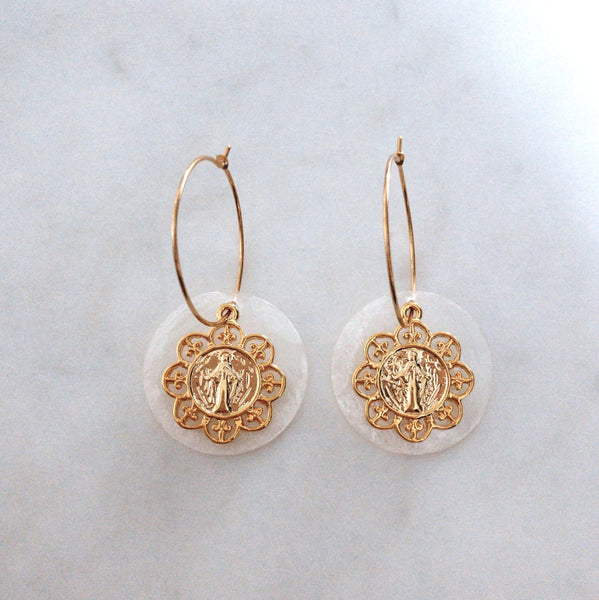 Mater Dei earrings