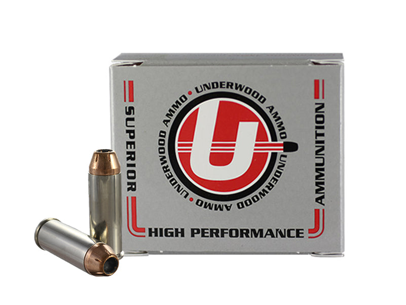 45 Colt (Long Colt)  +P 250 Grain XTP Jacketed Hollow Point