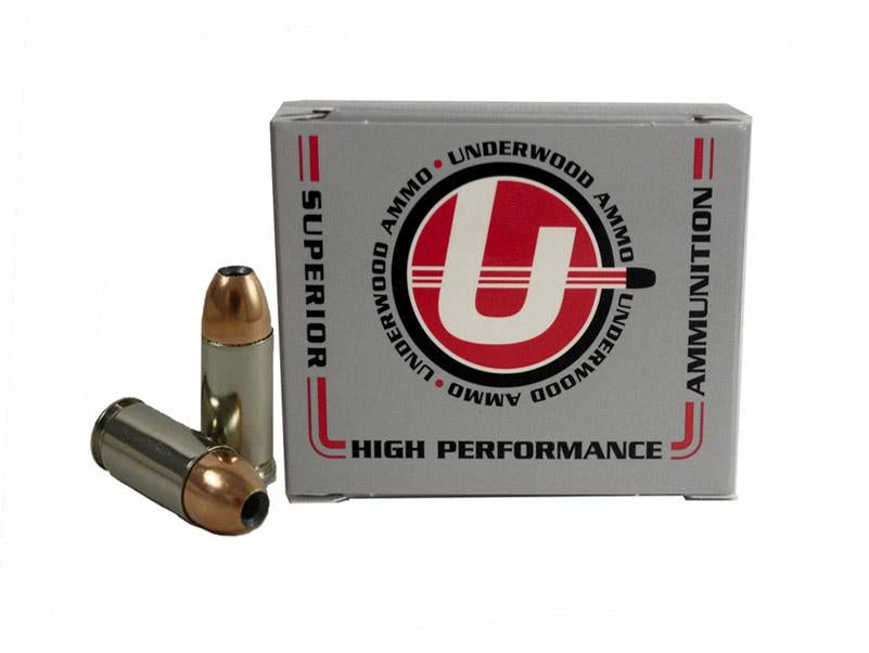 9mm Luger +P+ 124 Grain Jacket Hollow Point