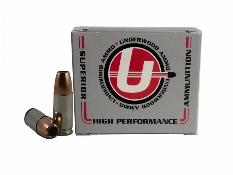 9mm Luger +P+ 147 Grain Bonded Jacket Hollow Point