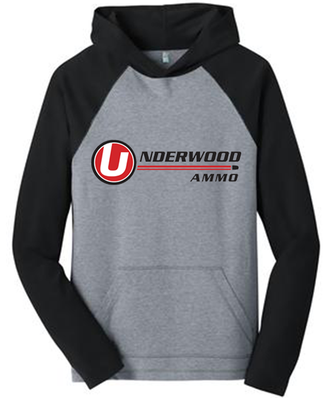 Underwood Ammo Logo - Hooded Long Sleeve Tee