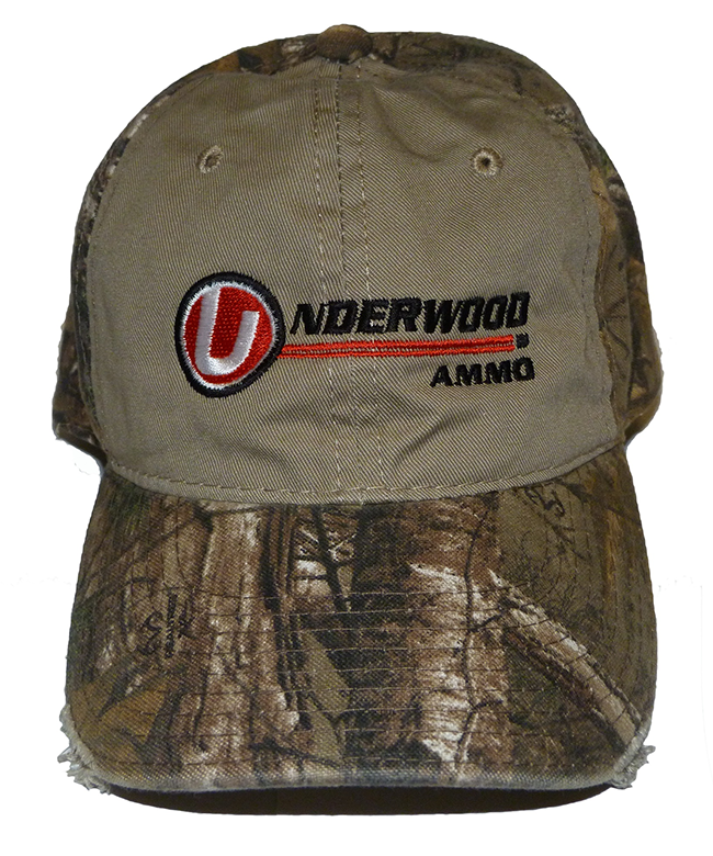 Underwood Ammo Logo - Realtree Xtra Camo Pre-Worn Hat