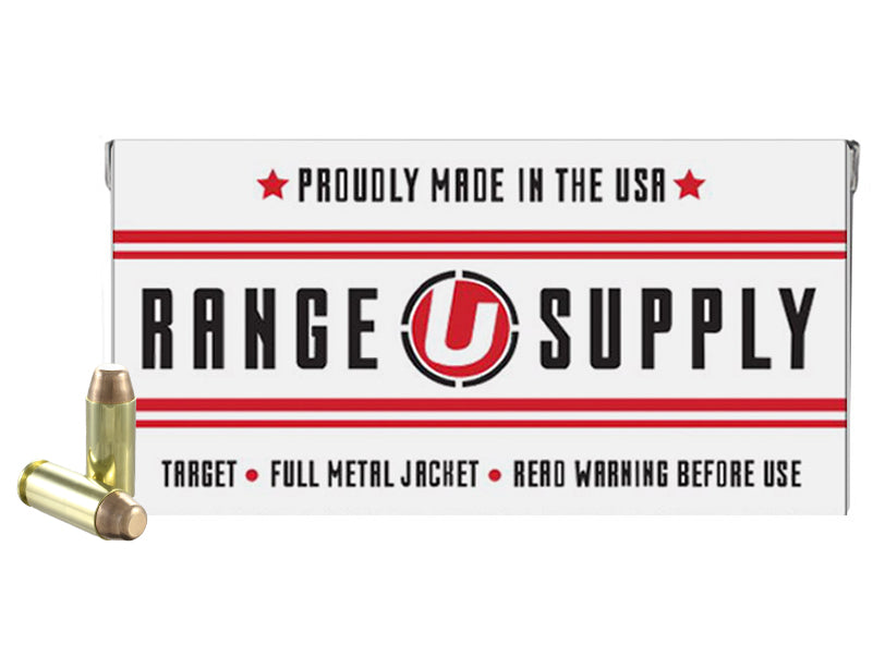 Range Supply 10mm Auto 180 Grain Full Metal Jacket