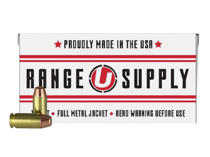Range Supply 40 S&W 180 Grain Full Metal Jacket