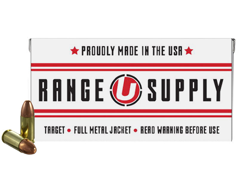 Range Supply 9mm Luger 124 Grain Full Metal Jacket