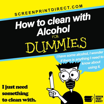 How to clean with Alcohol