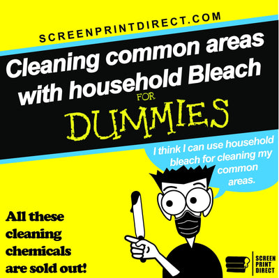 Cleaning with household Bleach