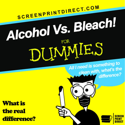 Alcohol Vs Bleach which is better ?