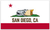 San Diego, CA Flag - Bumper Sticker