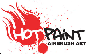 Hot Paint Airbrush Art