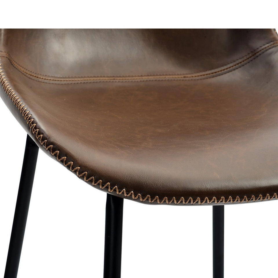 Vintage Leatherier Bar Chairs