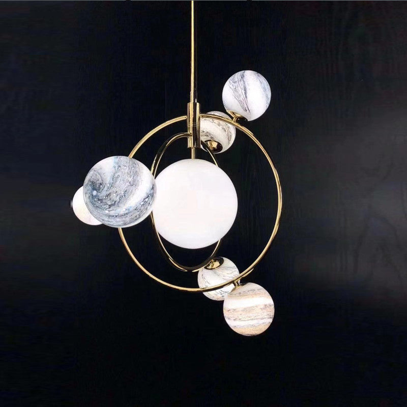 Creative Designer Planet Chandelier