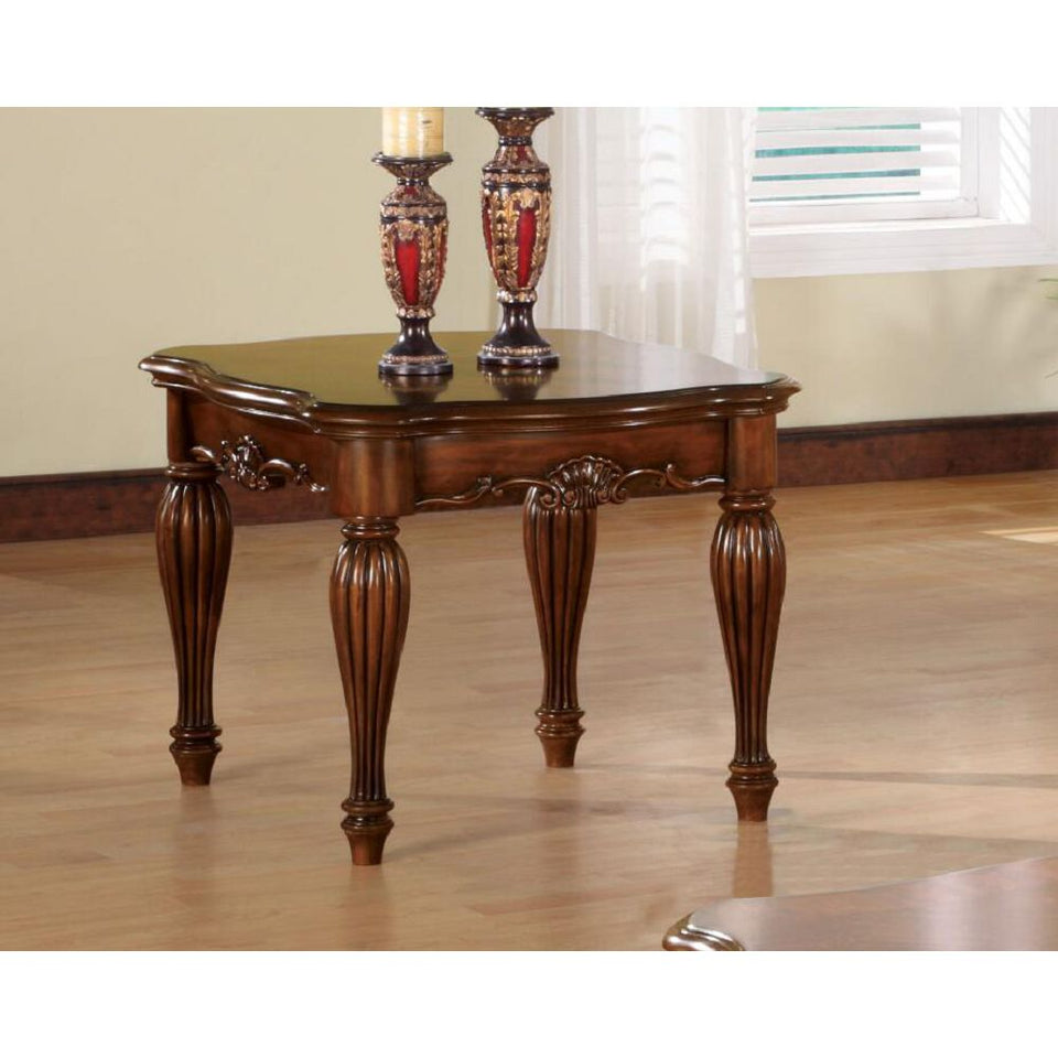 Dreena End Table in Cherry