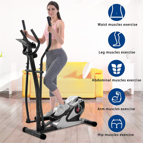 Elliptical Machine Trainer Magnetic Smooth Quiet Driven
