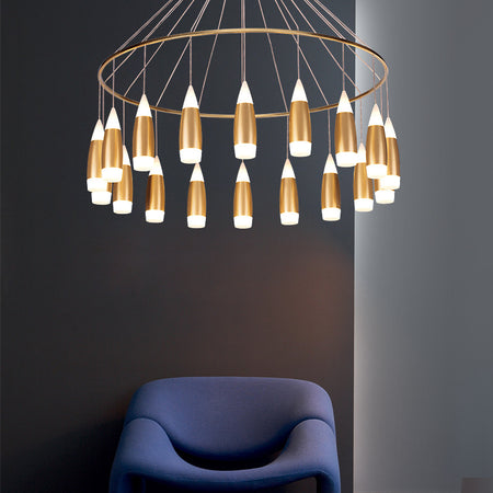 Fashional Campanula Chandelier Light Fixture
