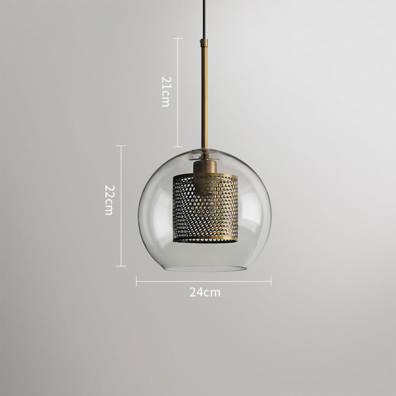 Fashional Glass Ball Chandelier