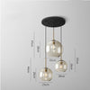 Goldfish Bowl Glass Chandelier