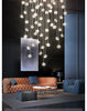 Irregular Crystal Pendant Lighting