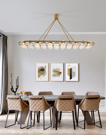 Kitchen Gold Chandelier