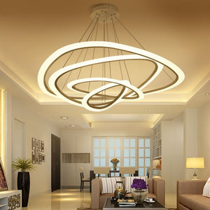 LED Love Chandelier