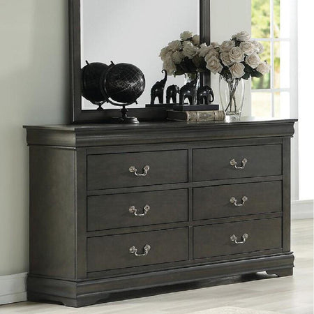 Louis Philippe Dresser in Dark Gray