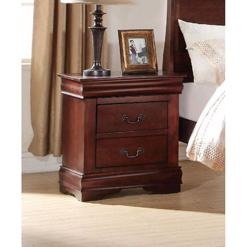 Louis Philippe Nightstand in Cherry