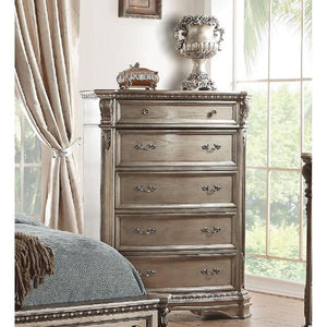 Northville Chest in Antique Silver
