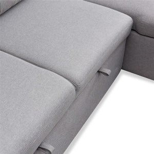 Reversible Sleeper Sectional Sofa