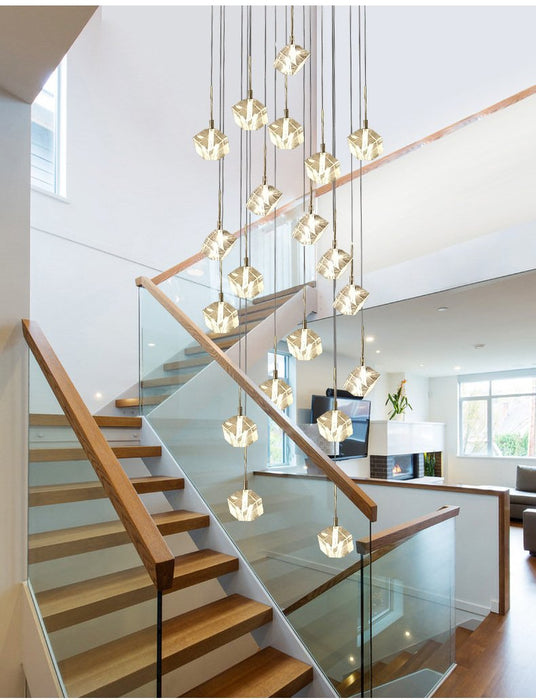 Transparent Crystal Chandelier