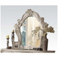 Versailles Mirror in Bone White