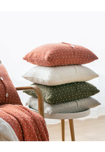 Soft Knitted Cushion Cover