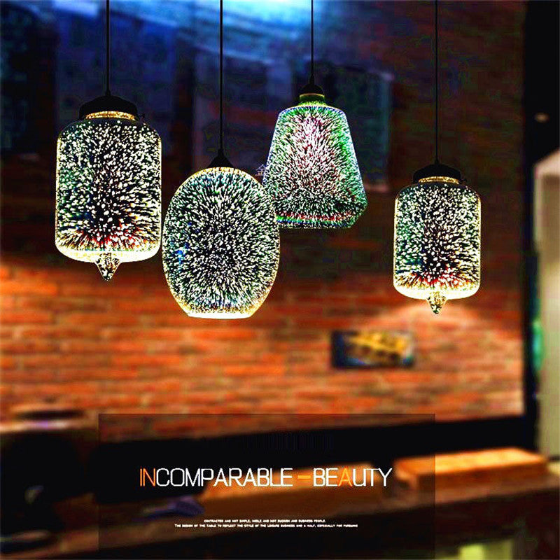 3D Magic Pendant Light
