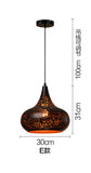 Industrial Wind Rust Pendant Lamp