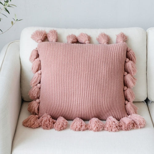 Knit Cushion Cover