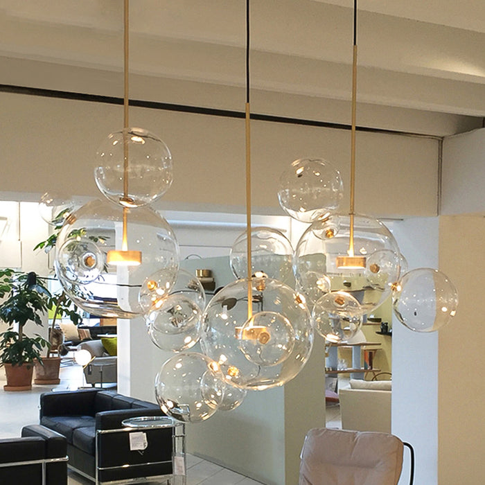 Artistic Glass Ball Chandelier