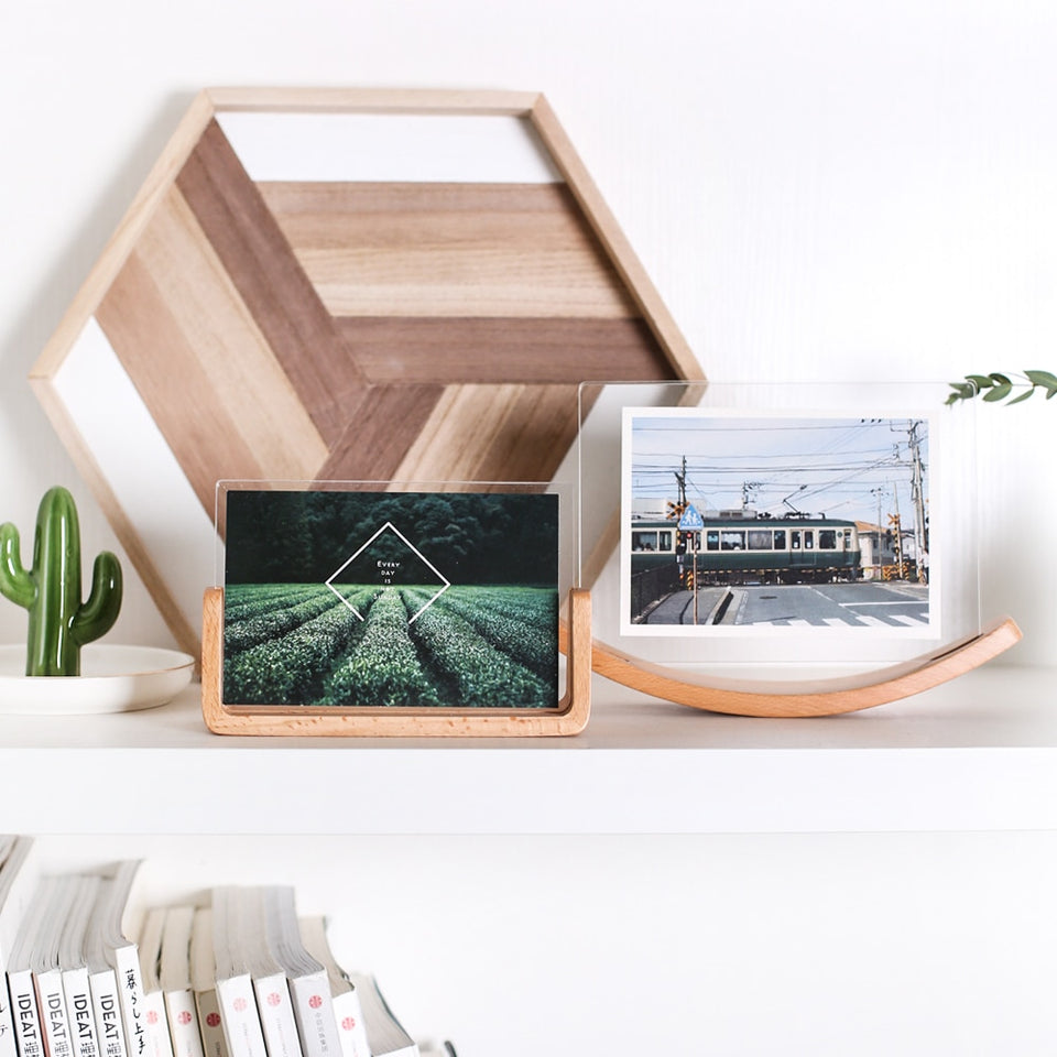 Wooden Photo Frame Standing