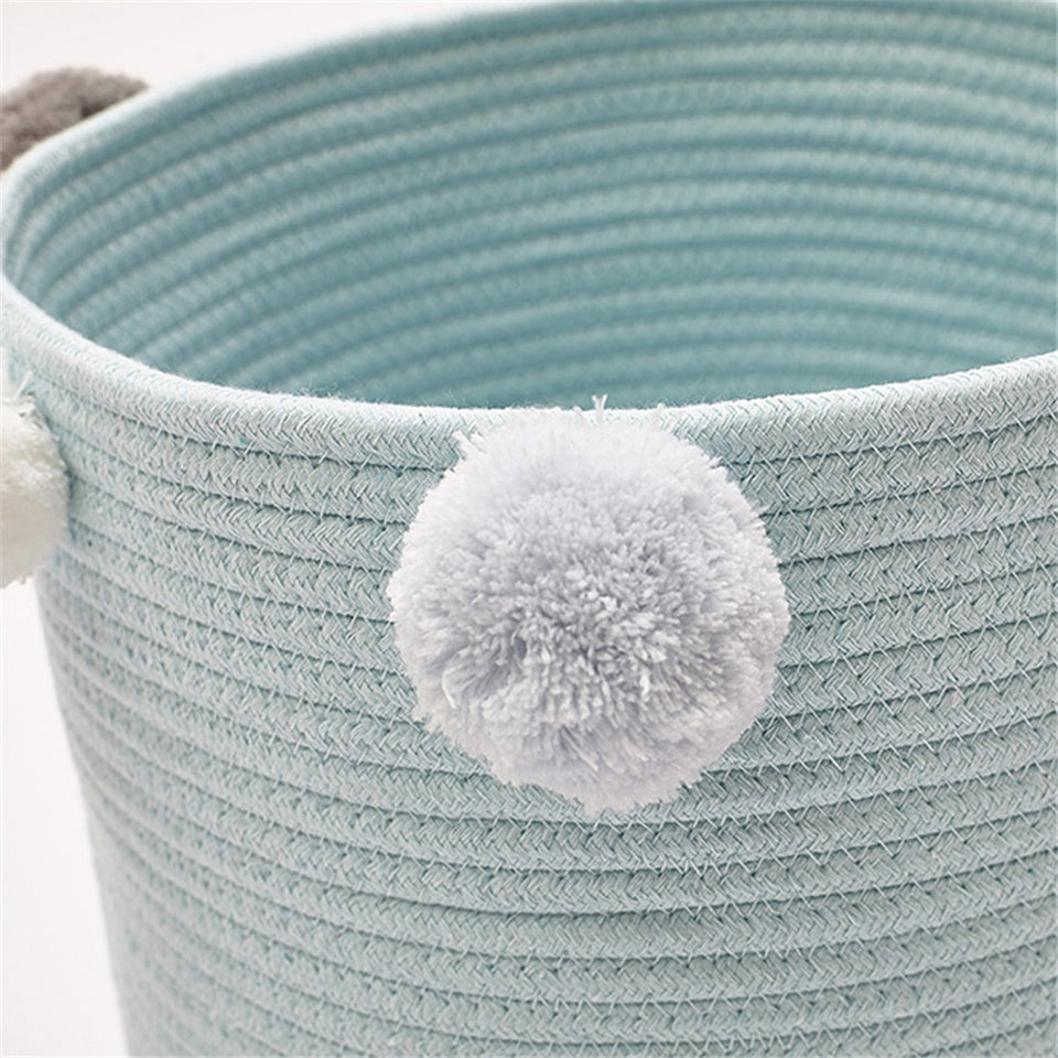 Woven Cotton Storage Basket