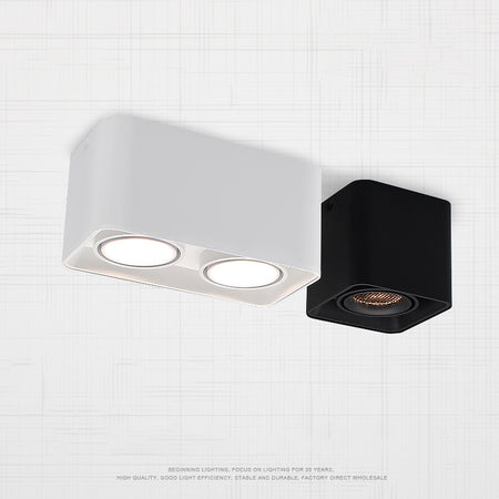 Square Double-ended Surface Mount Downlight