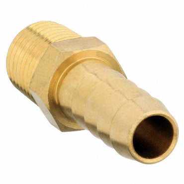 "FITTING STRAIGHT FITTING 1/4"" NPT X 3/8"" FUEL BARB FUEL FILTERS OR FUEL PUMPS"