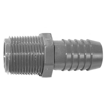 HOSE BARB  1-1/4 INCH STRAIGHT FOR STRAINERS