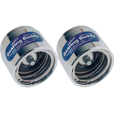 Bearing Buddy Chrome Trailer Wheel Bearing Protectors 2 Pack Model 1980A