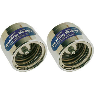 Bearing Buddy Chrome Trailer Wheel Bearing Protector 2 Pack