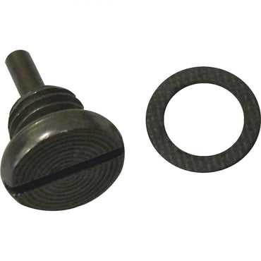 MAGNETIC DRAIN PLUG FITS LOWER OR UPPER - FITS EITHER ONE