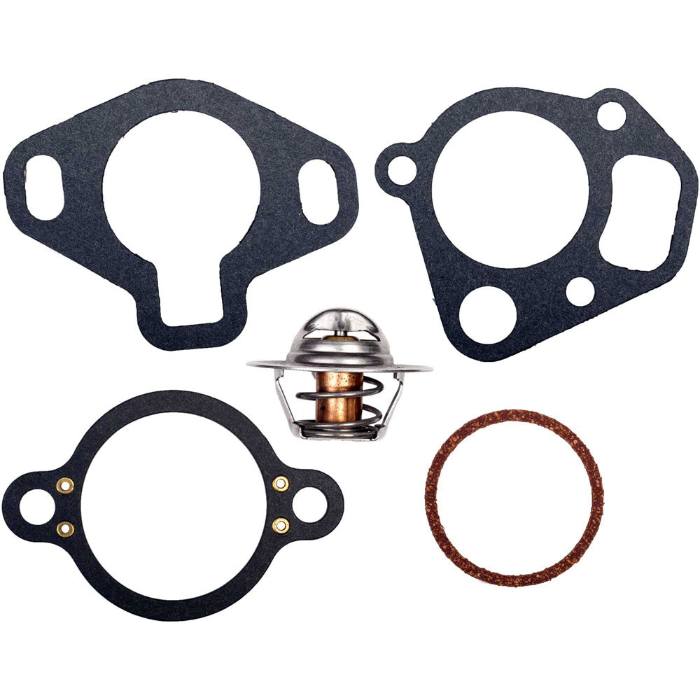 THERMOSTAT KIT MERCRUISER 142 DEGREE COMPLETE SERVICE KIT 18-3646